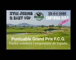 Abiertas inscripciones para la 4ª prueba en Empordà Golf Links